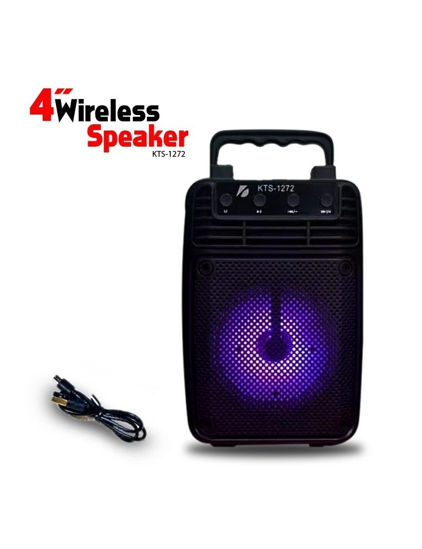Parlante Bluetooth Big Sound 4 Usb Micro Sd Fm Kts 1272