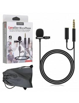 Microfono Corbatero 3.5mm +...