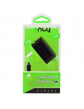 Cargador Rapido de Pared Only Micro Usb + 2 Puertos USB 5V 2A XF-83