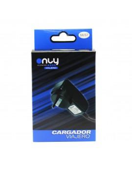 Cargador Rapido de Pared Only 5V 2A Micro Usb Separado + 1 Puerto EA-95