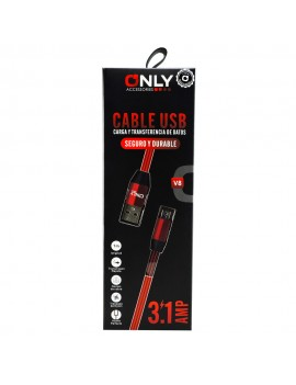 Cable Micro Usb Mallado Only 3.1A MOD 32