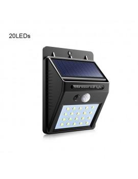 Luz Led Solar Con Sensor De...