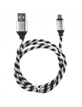 Cable Micro Usb Mallado 2.1A